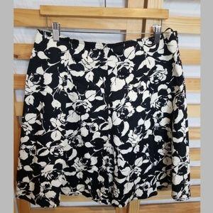 INC INTERNATIONAL CONCEPTS Full Skirt FLORAL PRINT